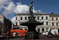 赫尔辛基南码头广场