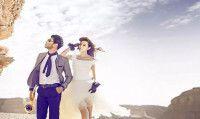 范冰冰、李晨敦煌婚纱照曝光,太美了 !
