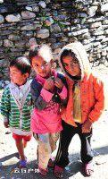 纯真微笑—山的那边是天堂尼泊尔人文摄影 第三篇