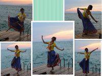 靓丽的小镇  浪漫爱琴海