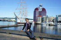 风光秀丽的海港城 哥德堡