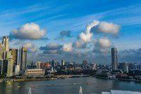 新加坡的奇芭--高空无边泳池