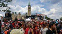 加拿大国庆游