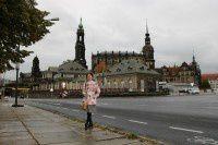 废墟上重建的德累斯顿