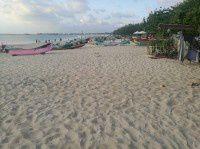 巴厘岛的沙滩